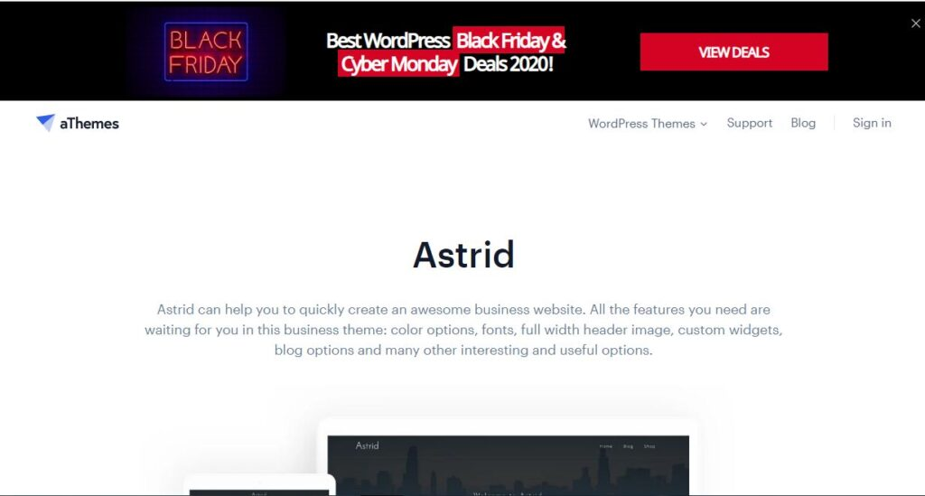 astrid theme