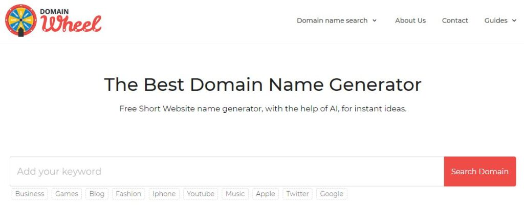 choose a good domain