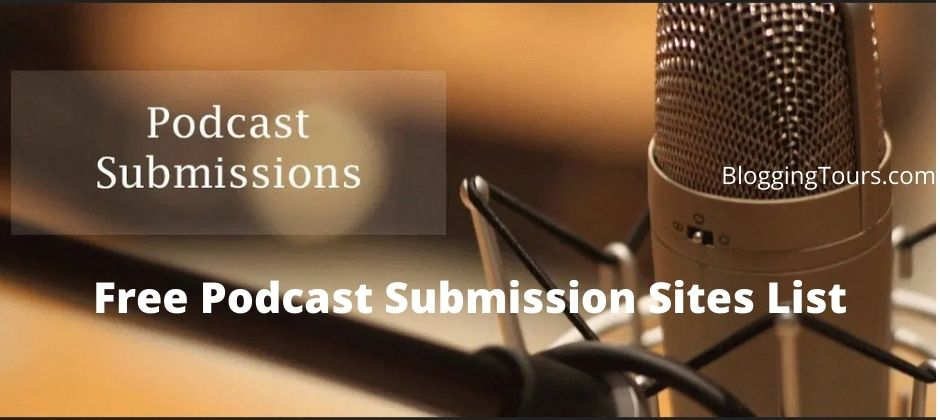 Podcast Submission Sites List